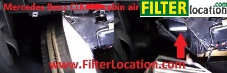 Change Mercedes S430 cabin air filter 2