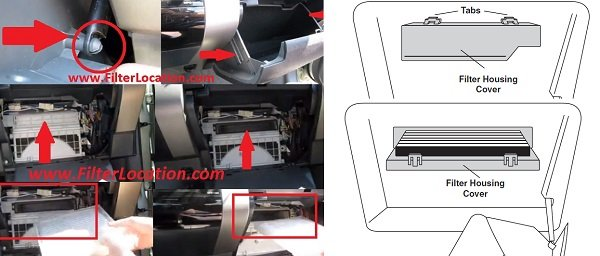 Change Toyota Tacoma cabin air filter