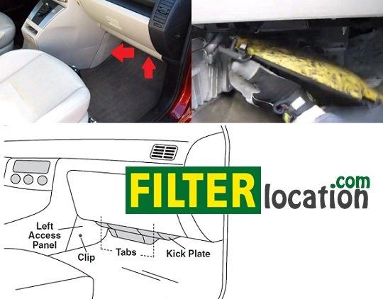 Mazda 5 Cabin Air Filter Locationrhfilterlocation: Mazda 5 Oil Filter Location At Gmaili.net
