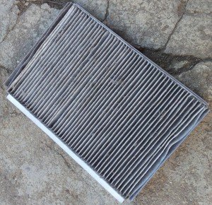 Cabin filter that needs replaced