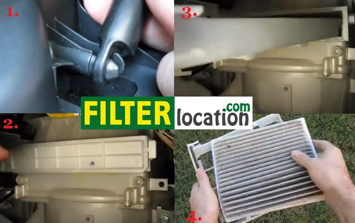 scion xb cabin filter location  scion  get free image