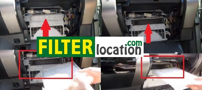 Replace Mitsubishi Endeavor cabin air filter