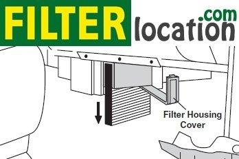 How to Change 2003 -2005 Change GMC Yukon cabin air filter
