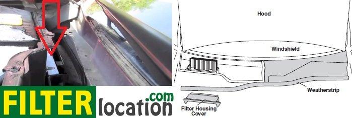 Change Cadillac SRX cabin air filter