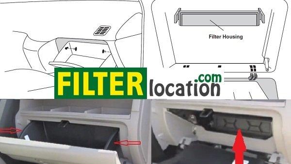 Honda Insight cabin air filter location