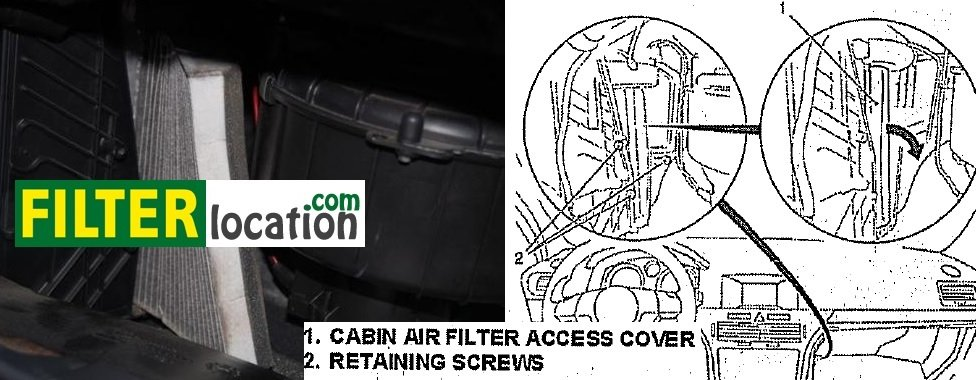 Change Saturn Astra cabin air filter