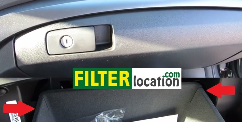 Where to Locate Acura ILX cabin air filter