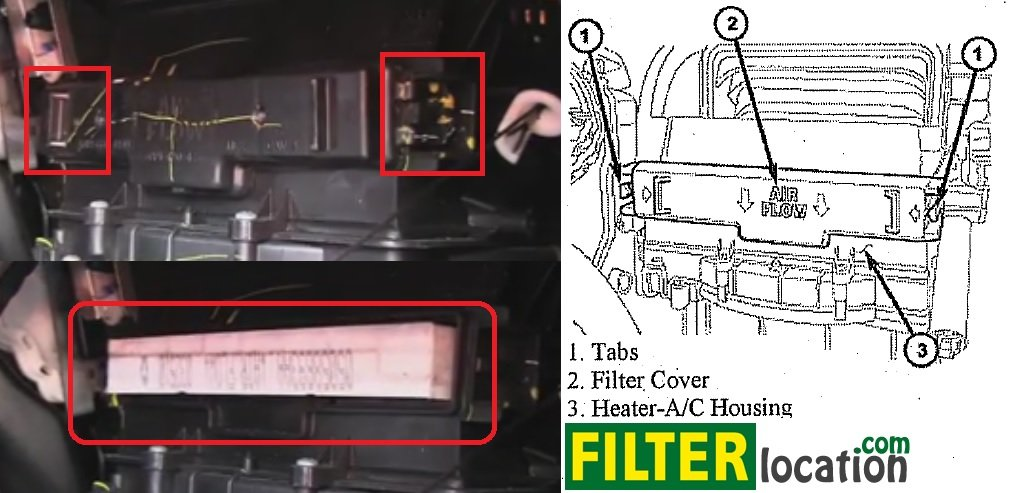 Change Dodge Journey Cabin Air Filterrhfilterlocation: Nissan Pathfinder Cabin Filter Location At Elf-jo.com
