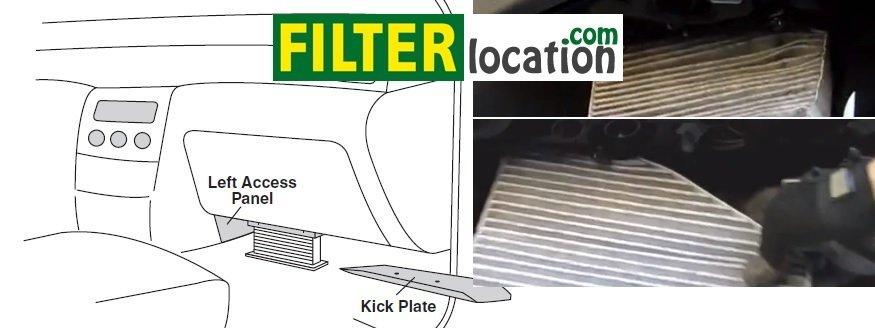 Replace VW Tiguan cabin filter