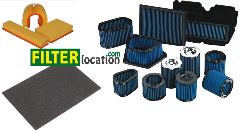 Types and forms of air filters