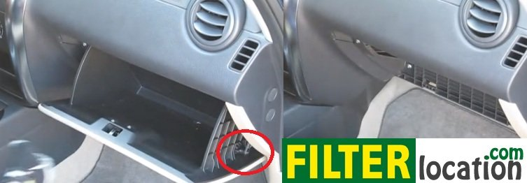 Suzuki Sx4 Cabin Air Filter Location