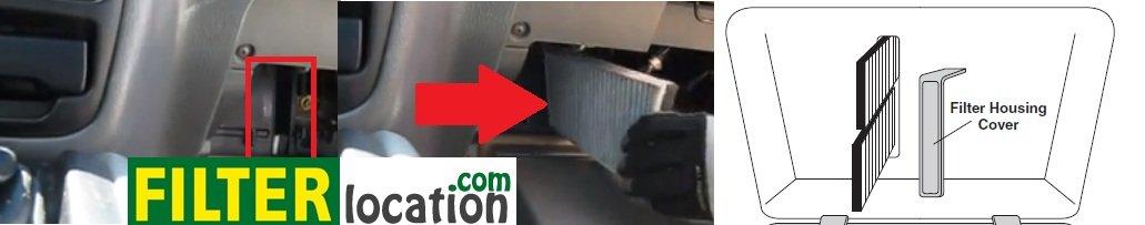 Replace Suzuki Vitara cabin air filter