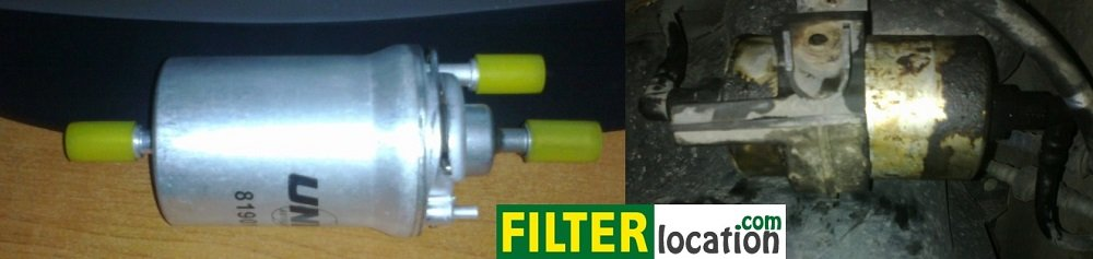 How to change the fuel filter on a Skoda Fabia