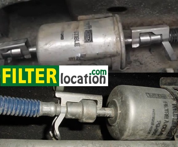 replace the gasoline filter on a ford f150  filterlocation.com