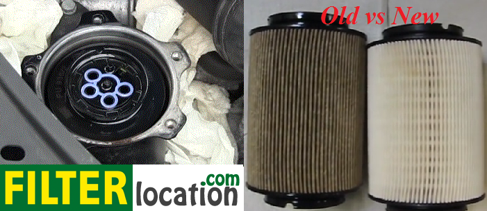 Locate and replace VW Jetta fuel filter