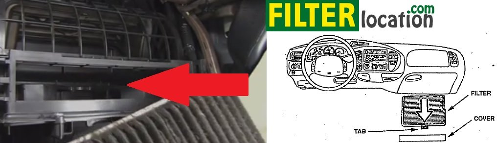Insert New Lincoln Mkx Cabin Air Filter
