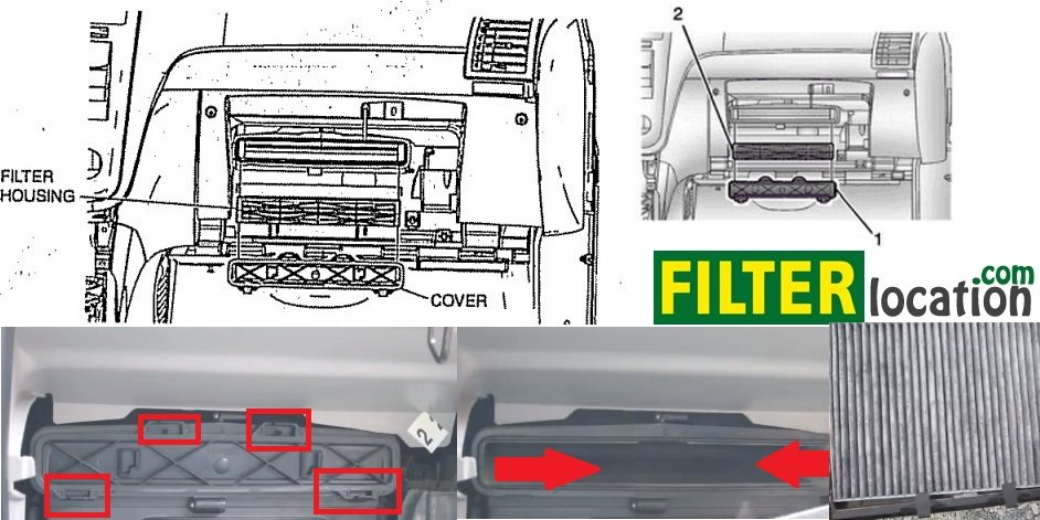 How To Replace Buick Enclave Cabin Air Filter Home Diyrhfilterlocation: 2006 Buick Lacrosse Fuel Filter Location At Gmaili.net