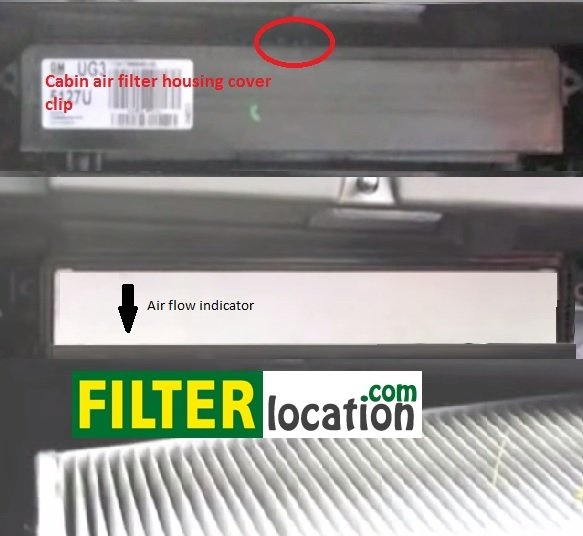 Change 2011 Chevrolet Cruze cabin air filter