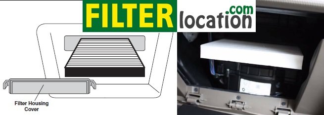 Install new Jeep Patriot cabin filter