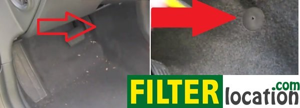 Volvo S40 Cabin Air Filter Location