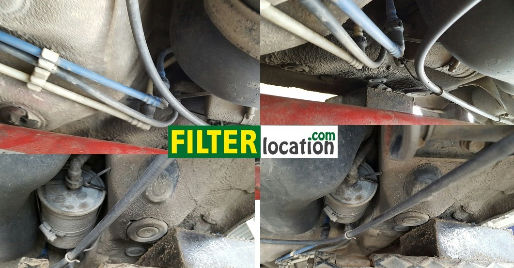 Locate and change Skoda Octavia fuel filter