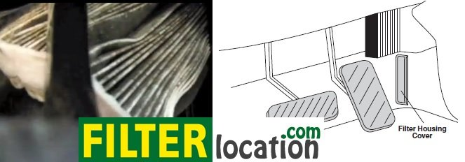 Replace Volvo S40 cabin filter