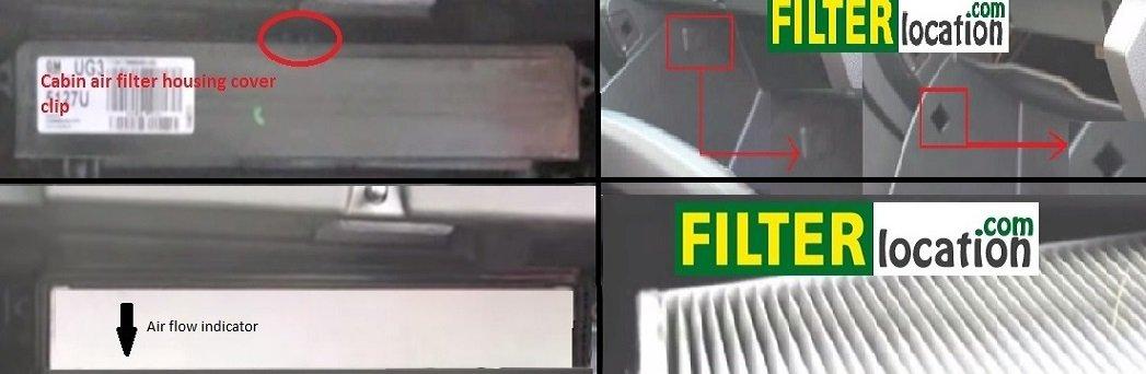 Replace 2011 Buick Regal cabin air filter