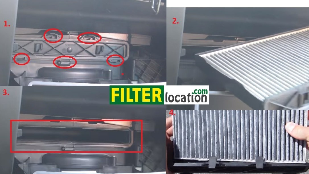 replace chevrolet traverse cabin air filter