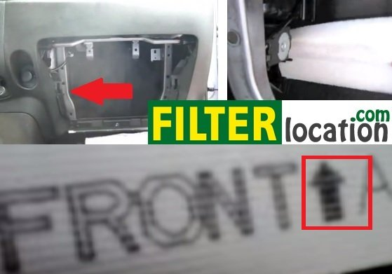 Nissan Juke Cabin Air Filter Location