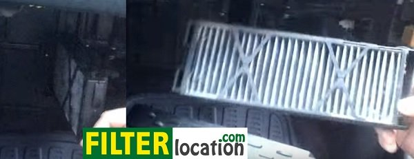 Replace Nissan Maxima 5th generation cabin air filter