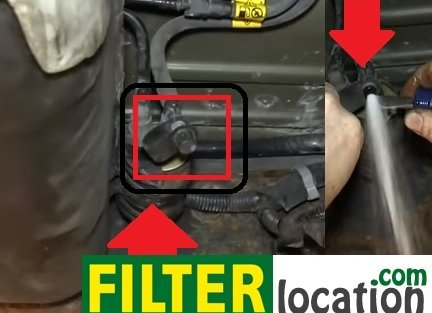 where to locate gmc envoy fuel filter and replacement  filterlocation.com