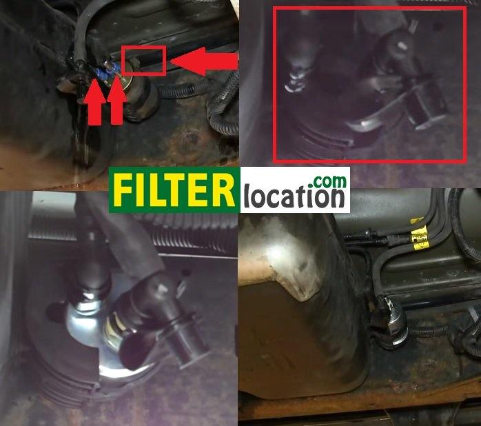 Chevy TrailBlazer fuel filter location and replacement FilterLocation.com