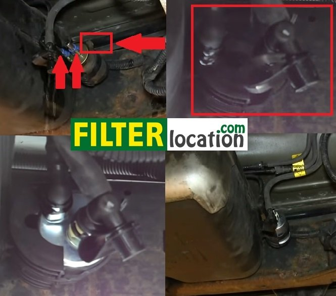 where to locate gmc envoy fuel filter and replacement 2008 Envoy Engine Diagram Oil System gmc envoy oil change built to drive