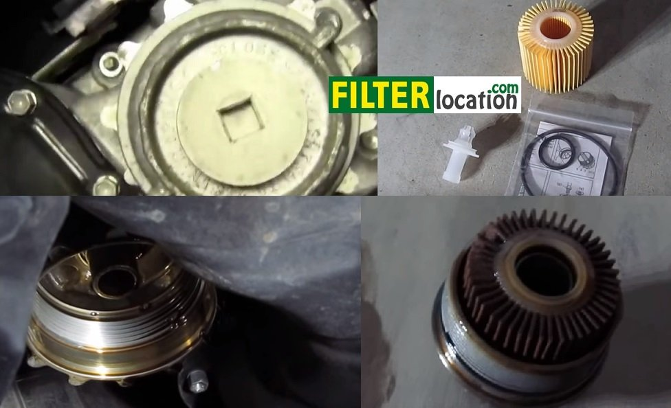 How to change engine oil and oil filter on Toyota Sienna from 2006-2010.