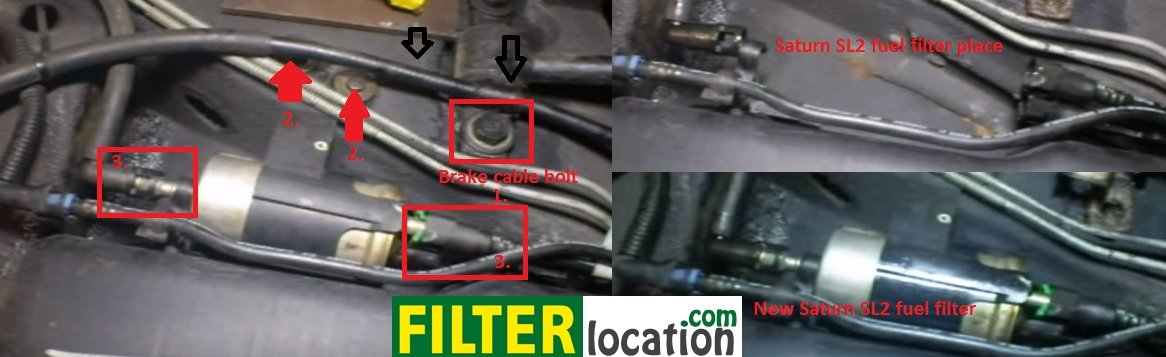 how to replace the fuel filter on a saturn sl2