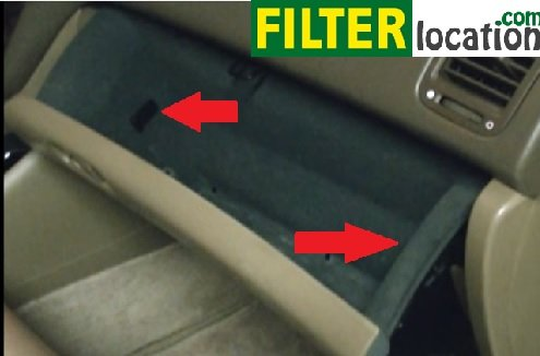 How to change 2000-2006 Acura MDX cabin air filter.