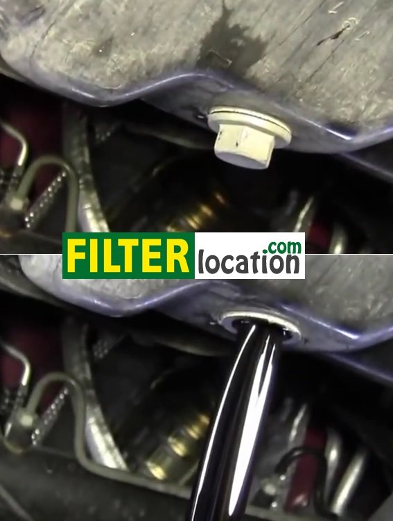engine oil and oil filter on Toyota Sienna from 2006-2010