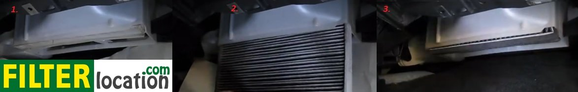 Replace Volvo S60 cabin filter