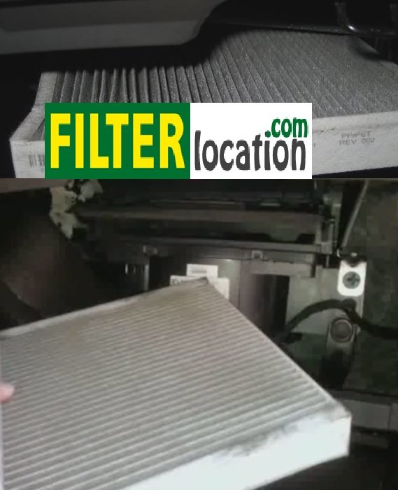 Replace the cabin air filter on a Chevrolet Sonic 2012-2014