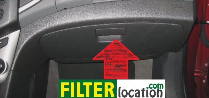 2011 chevy equinox cabin filter location