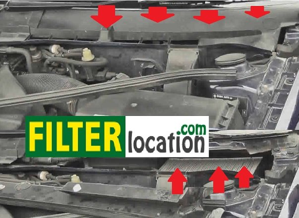 Change the cabin air filter on a Skoda Octavia climatronic