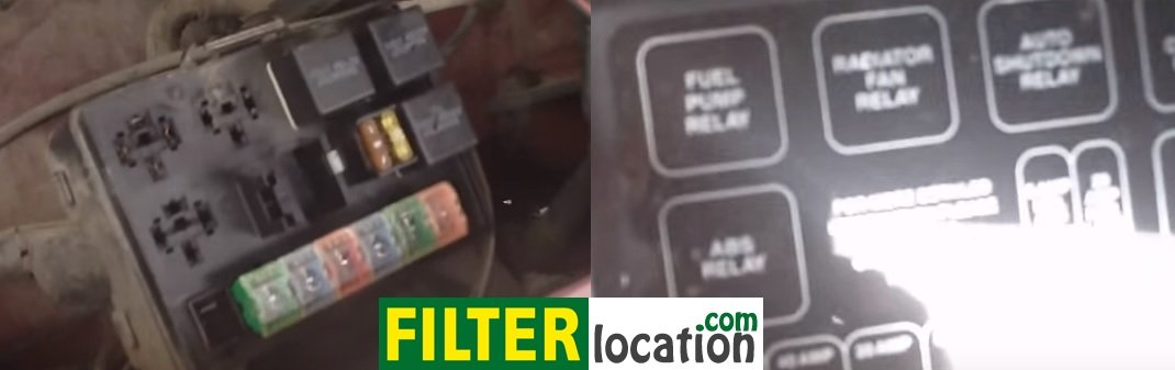 Remove Dodge Dakota fuel pump relay