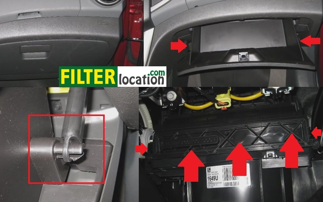 replace the cabin air filter on a chevrolet t300replace the cabin air filter on a chevrolet sonic 2012 2014