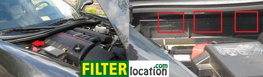 How to change 2005-2011 Chevrolet Corvette cabin air filter