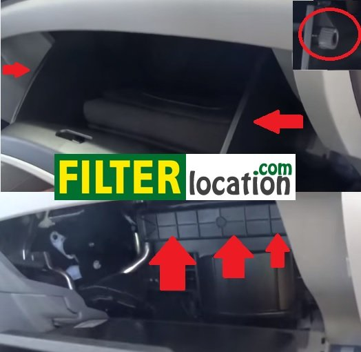 How To Change Honda Civic Cabin Air Filter on 2013 honda civic cabin air filter location