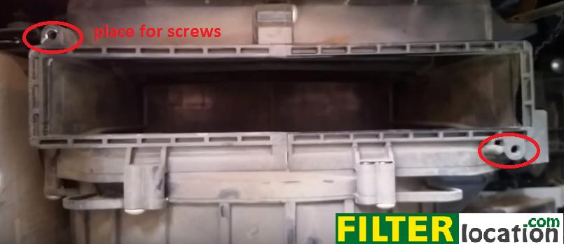 cabin air filter location mitsubishi