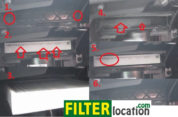 buick park cabin air filter location  buick  free engine