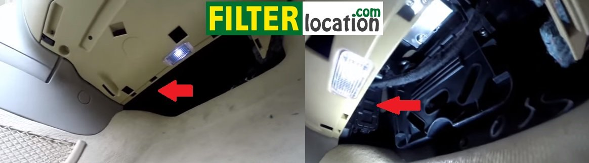 How to change 2004, 2005, 2006, 2007, 2008, 2009 and 2010 Audi S6 cabin air filter