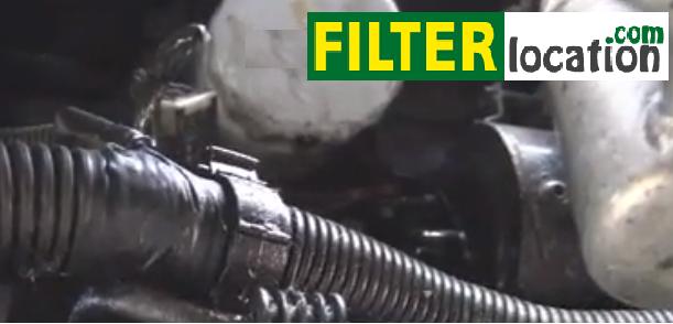 oil filter location cutlass