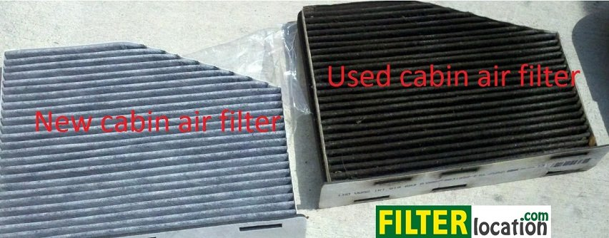 New vs used vw Rabbit cabin air filter